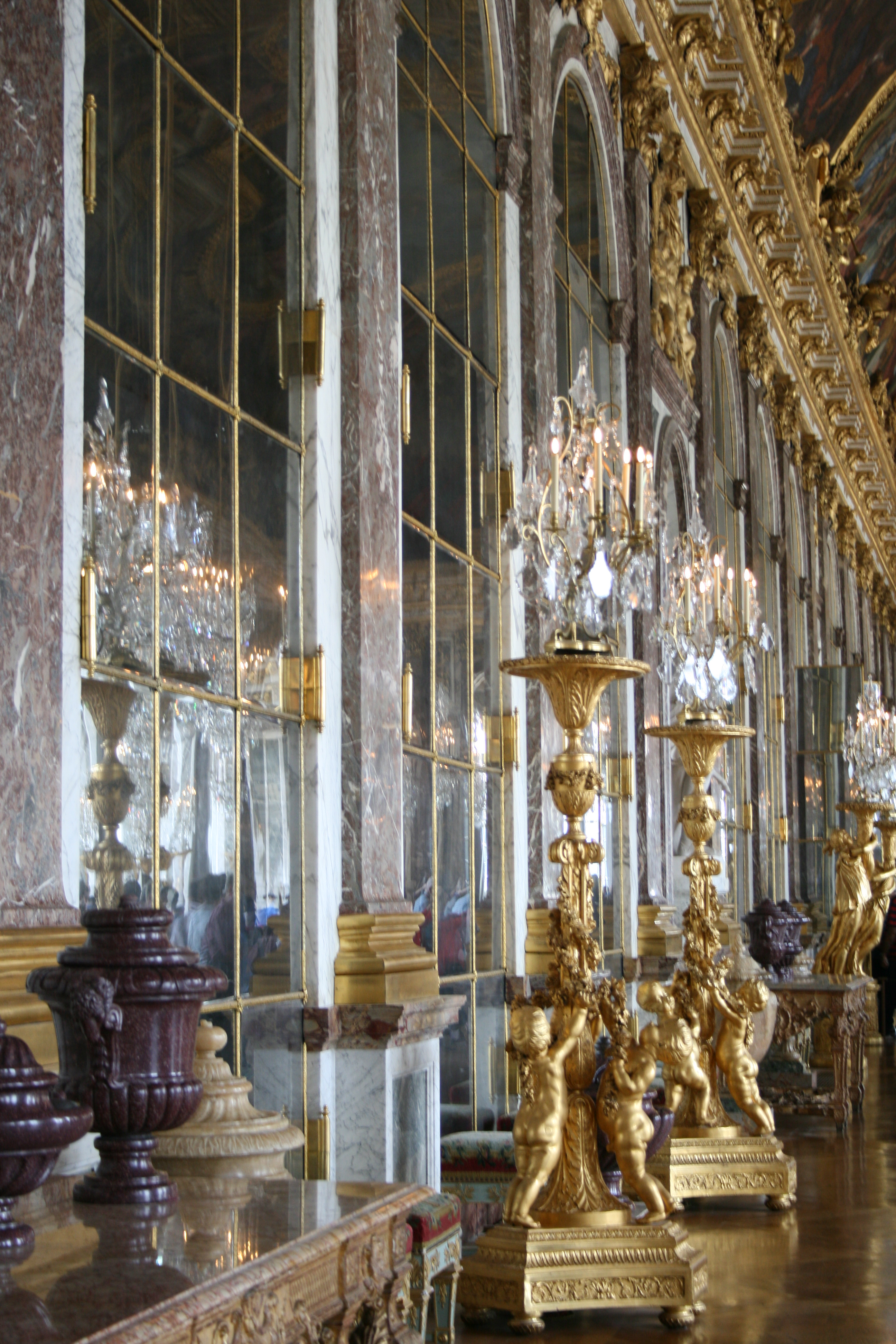 Hall of Mirrors, details