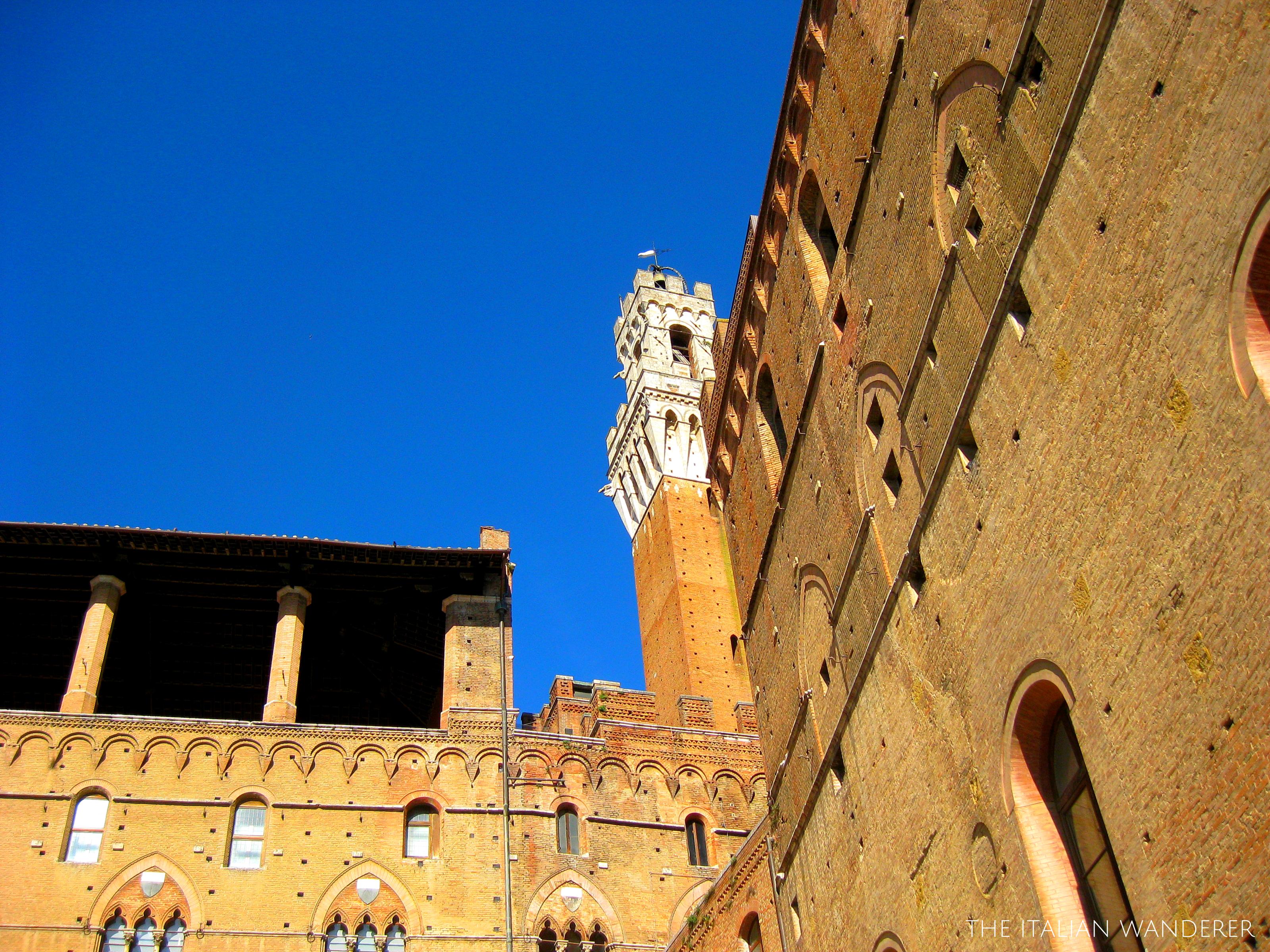 Siena, behind Piazza del Campo