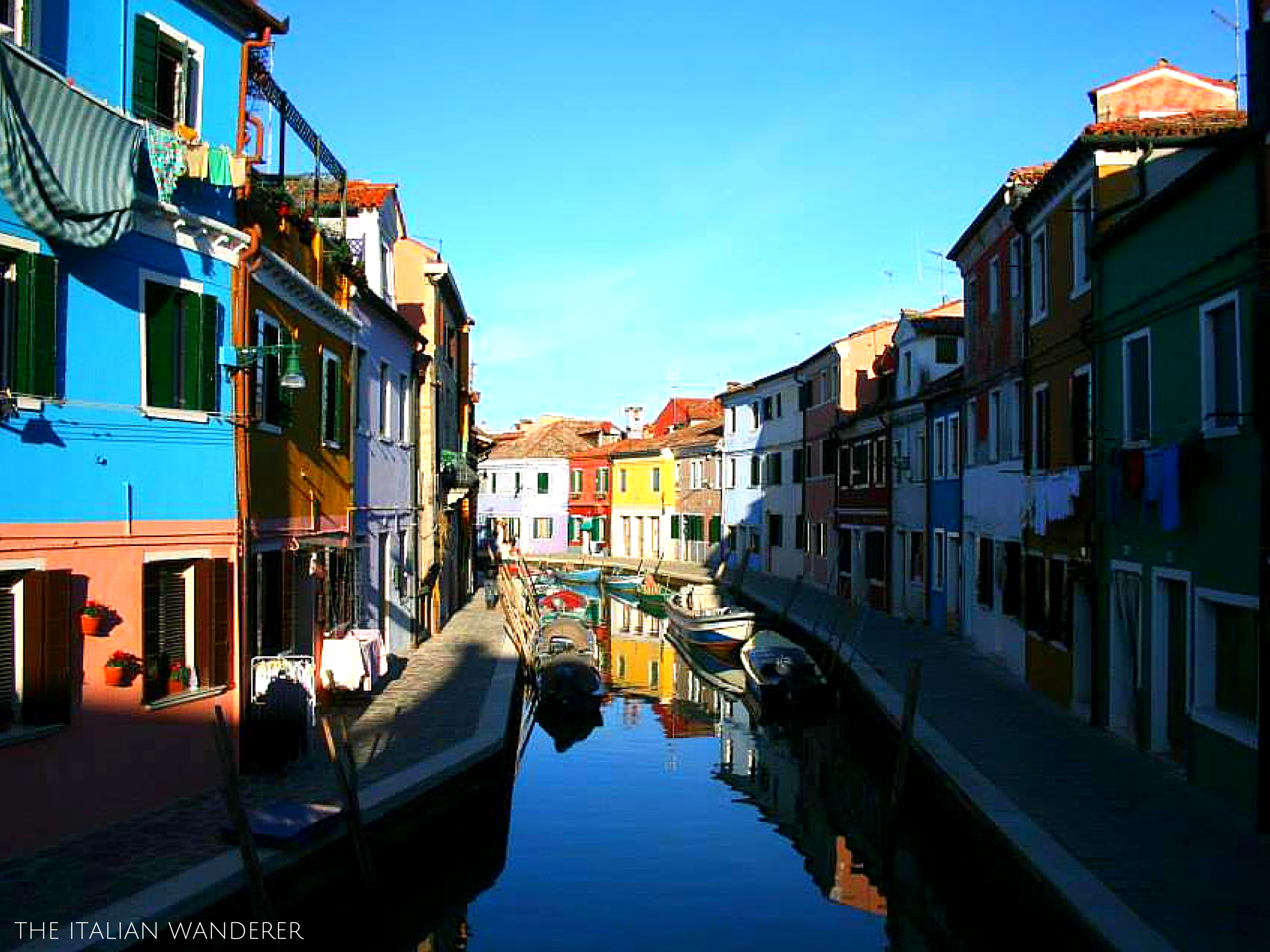 Burano and its colored houses