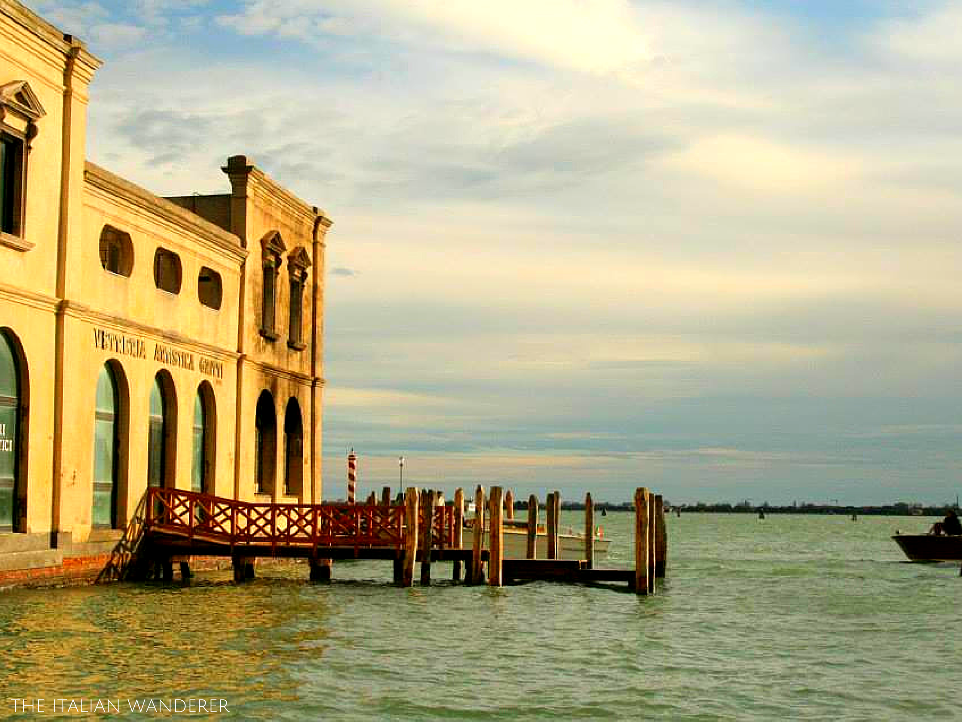 Murano, known for the traditional production of glass.