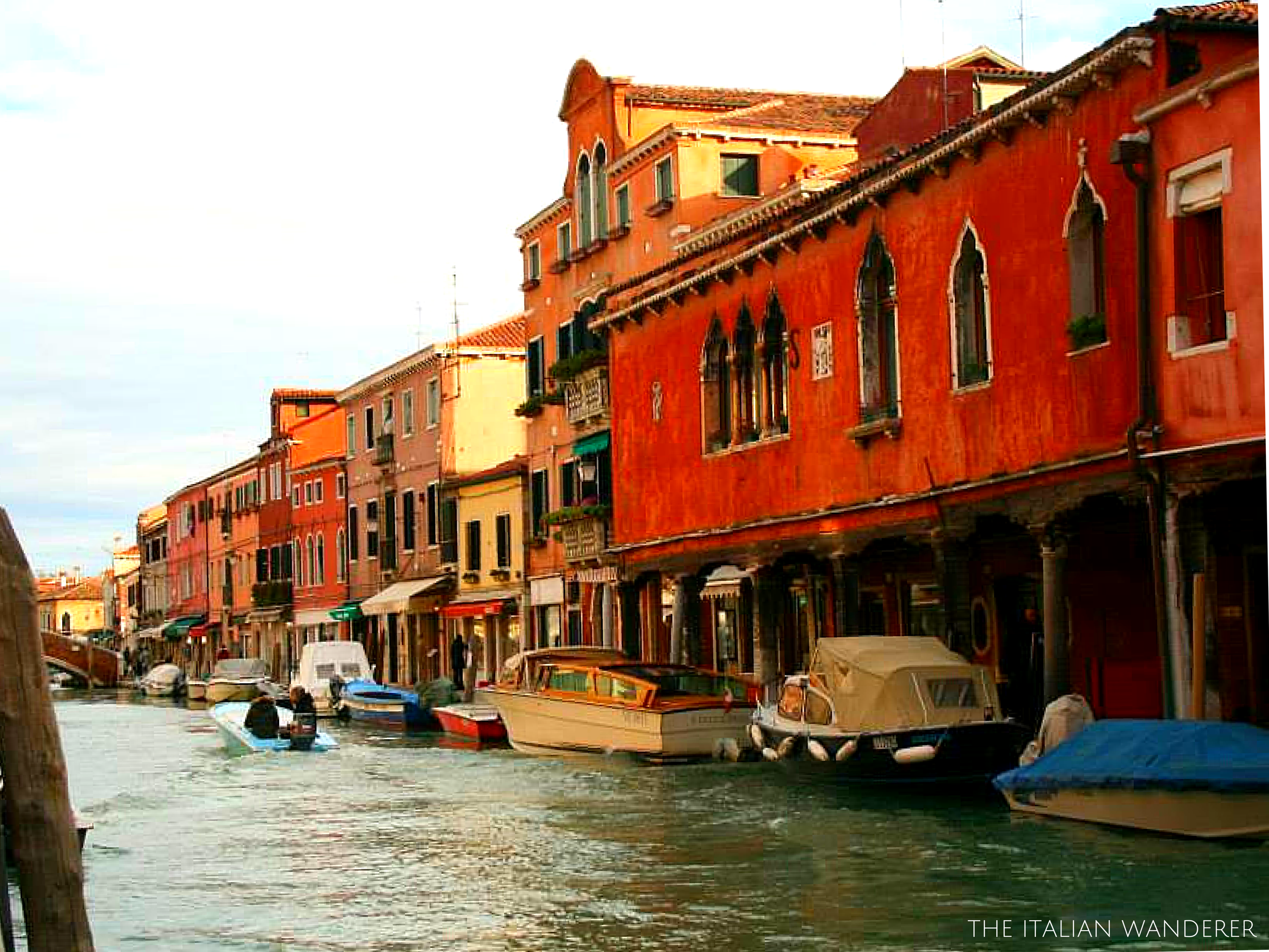 Murano, Venice known for the handmade glass