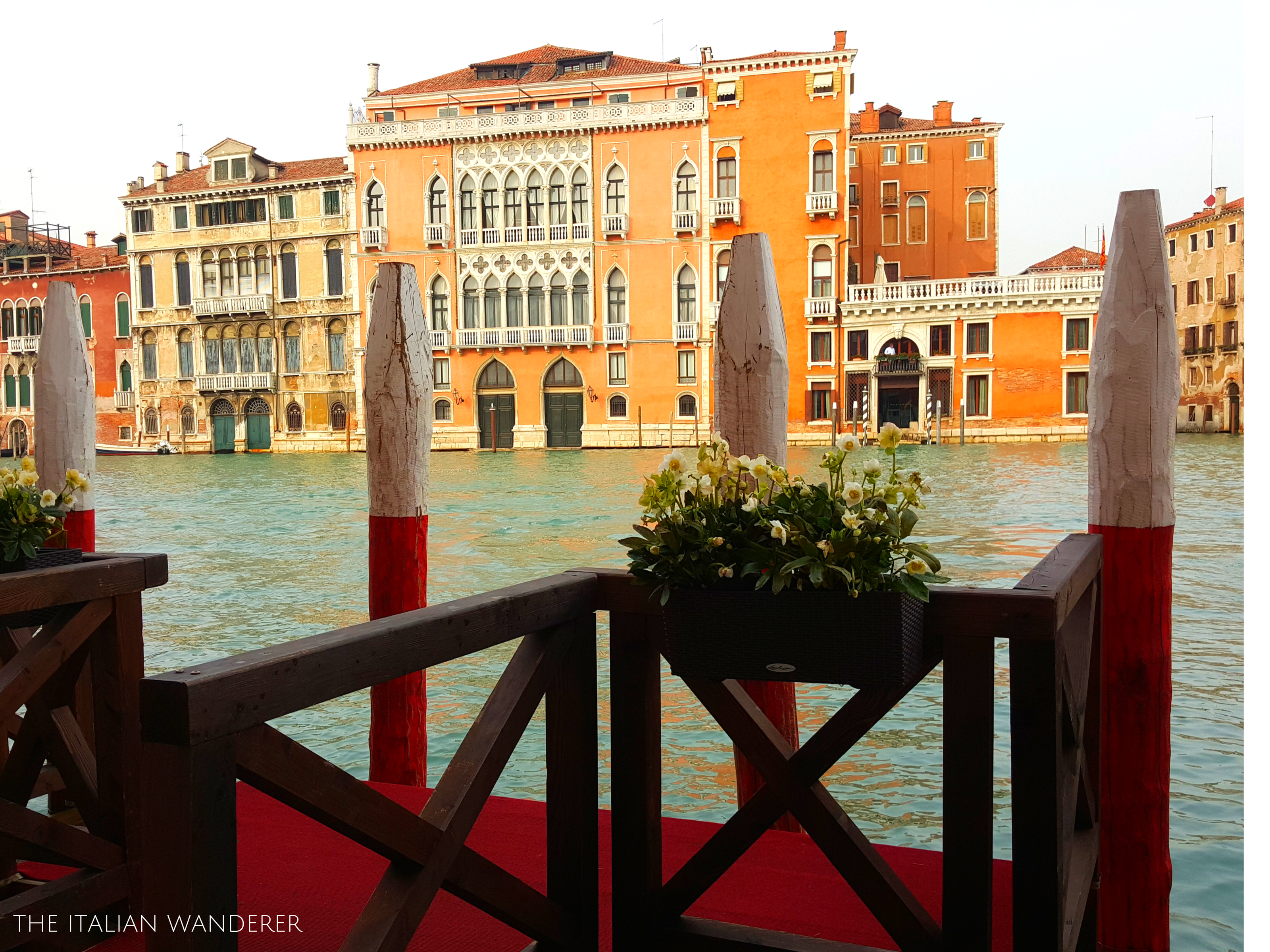The view from the entrance at Palazzo Barocci, #Venice