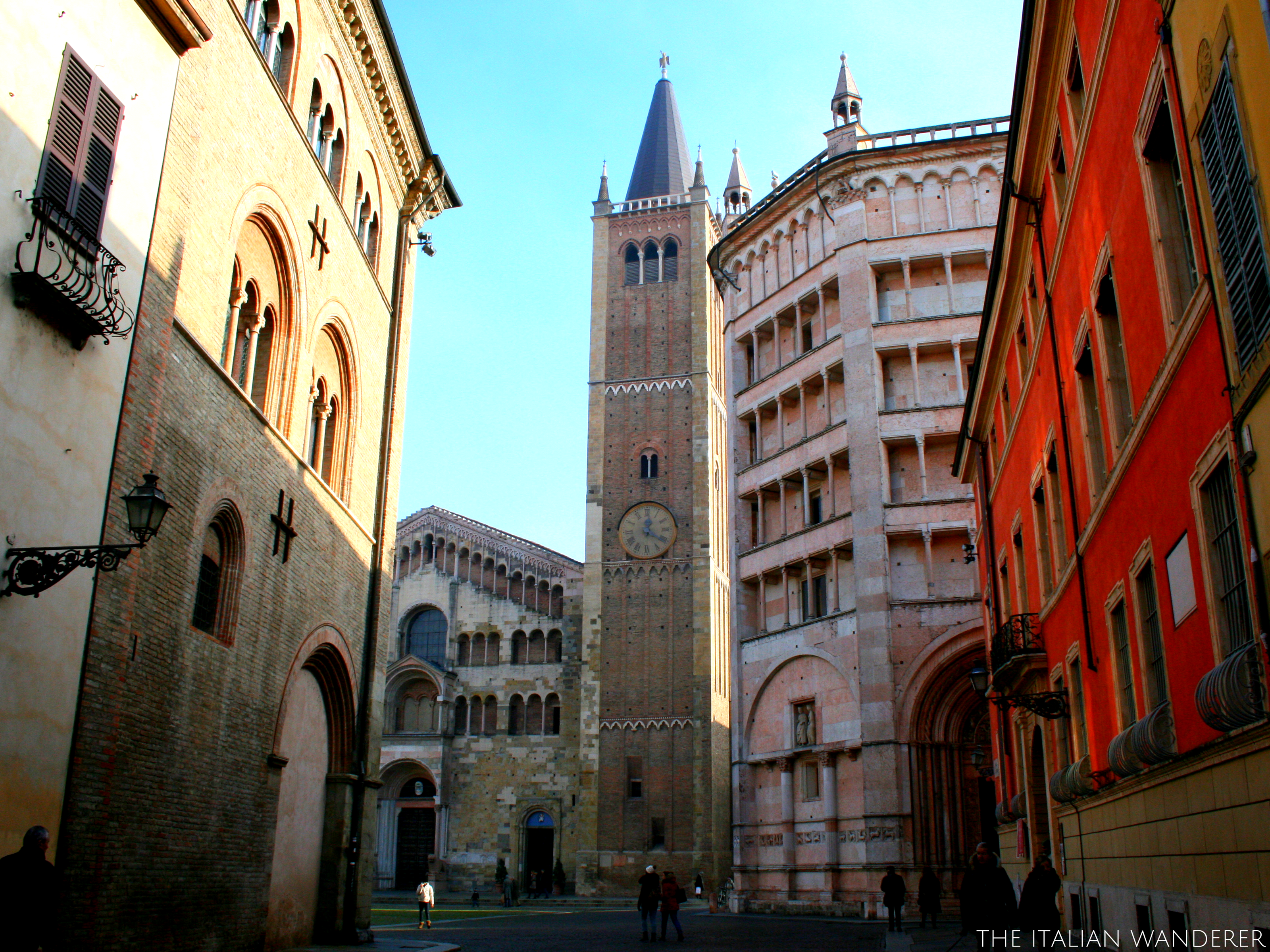 Cathedral and Baptistery of Parma