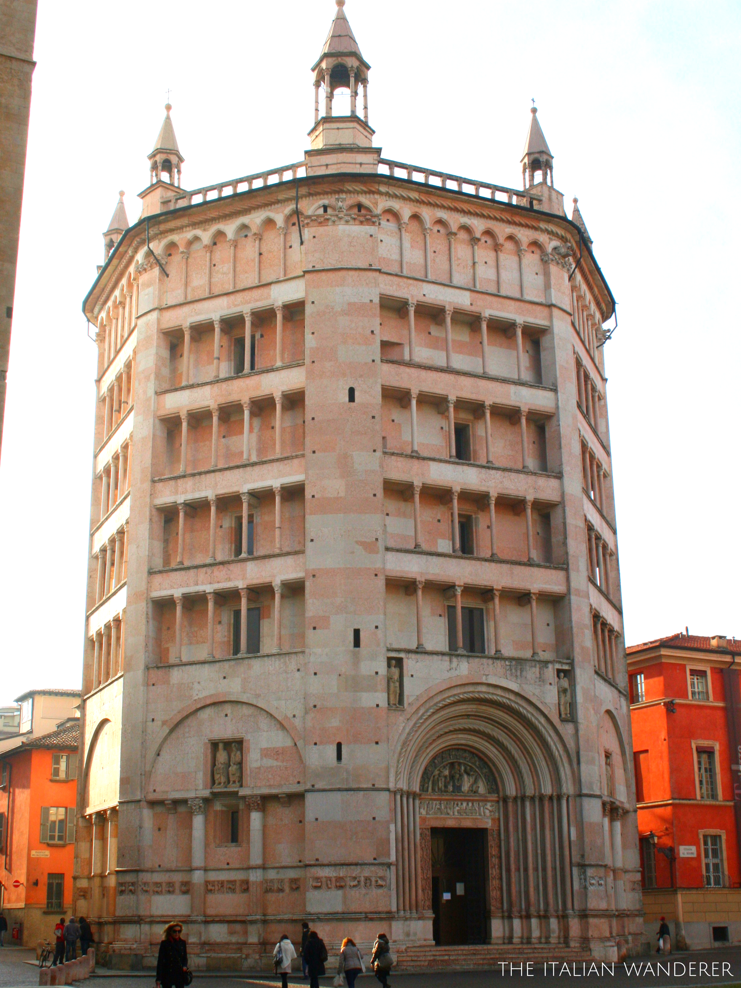 The Baptistery of Parma