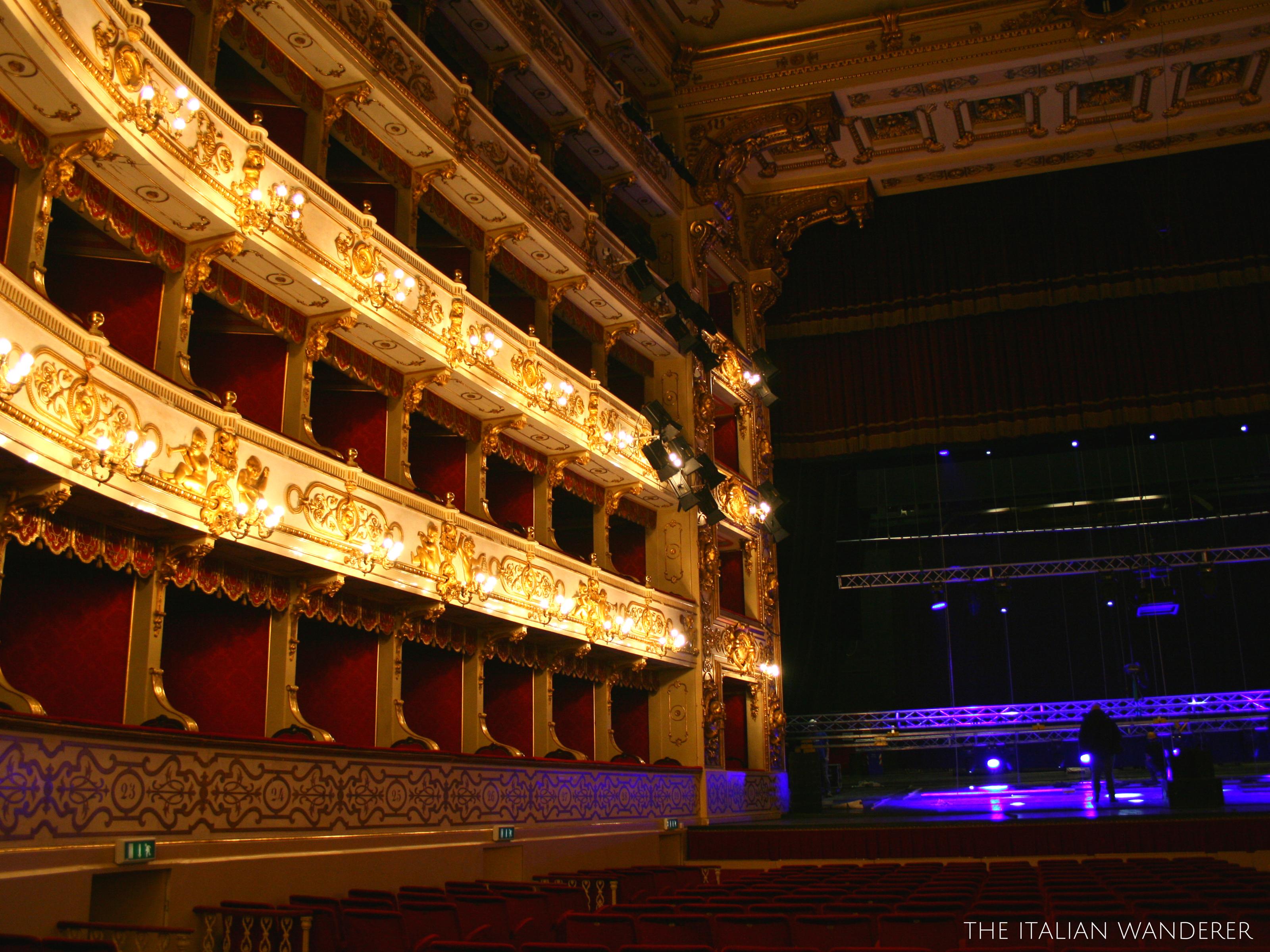 The Teatro Regio of Parma