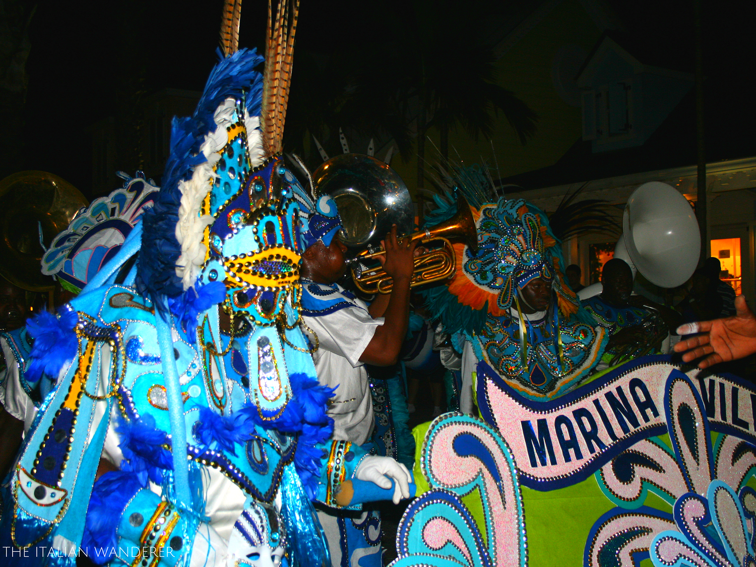 Junkanoo Festival in downtown Nassau