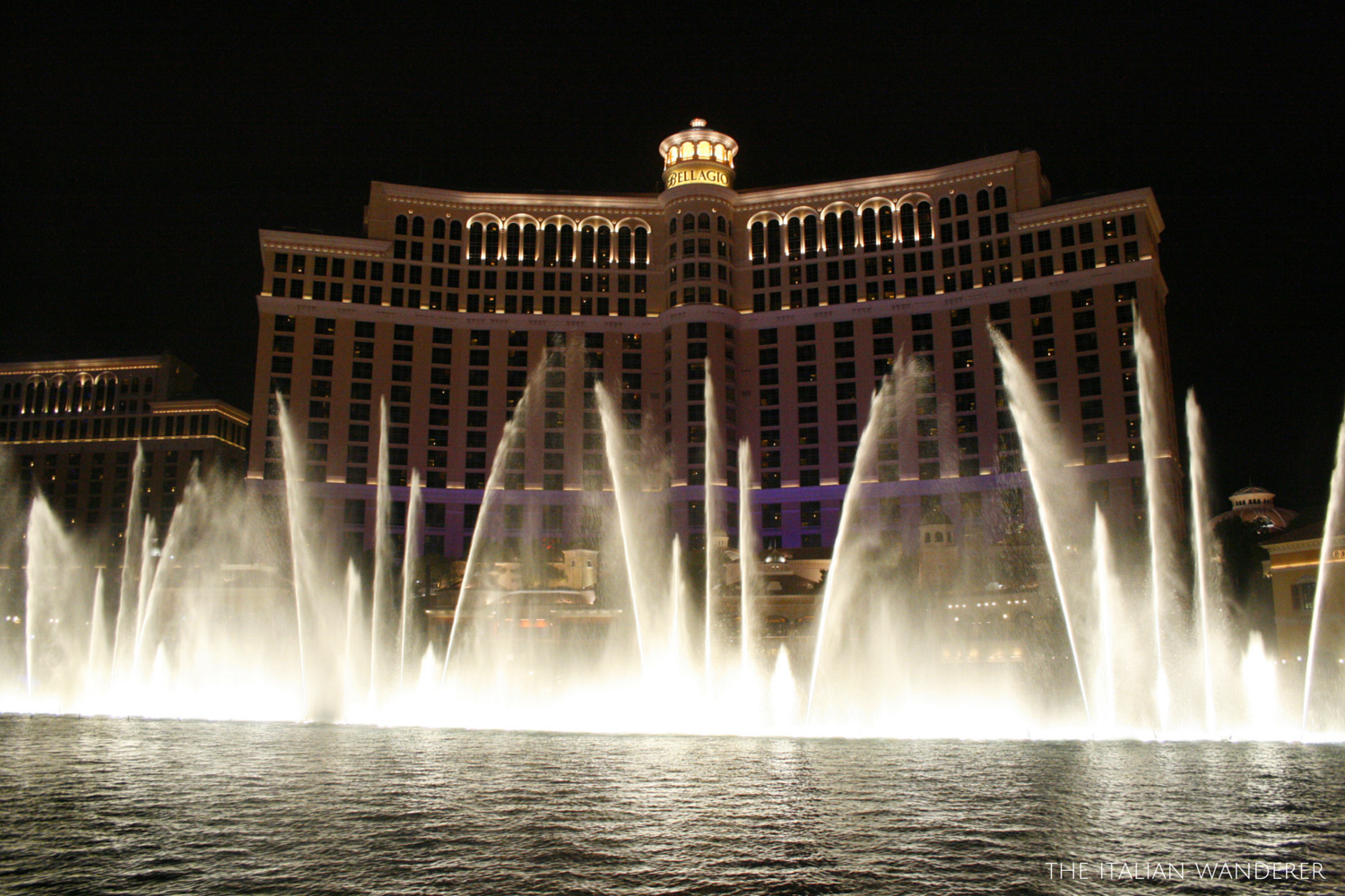 Bellagio's stunning Fountains show