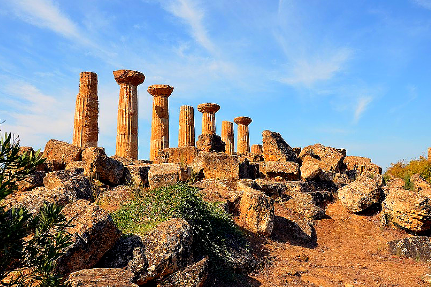 Sicily, temples