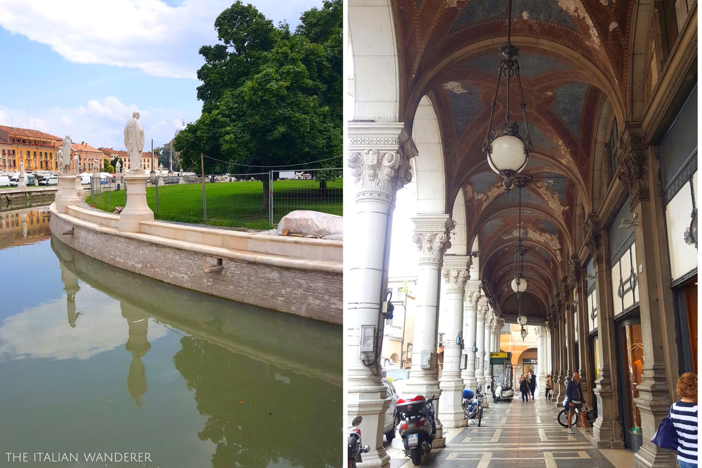 Padua, Prato della Valle and colonnade