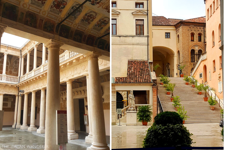 Padua, Palazzo Bo and Palazzo Moroni